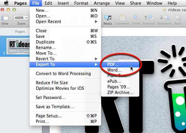 Adding Keyboard Shortcuts on your Mac – RT Ideas
